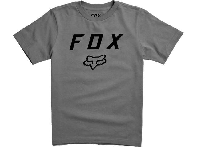 Fox Legacy Moth Shortsleeve T-Shirt Kinder heather graphite